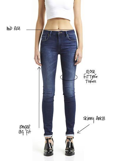 Skinny jeans australia girl