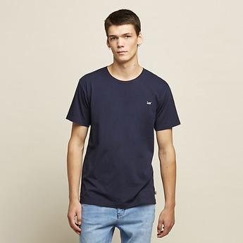 Image of Lee Jeans Australia Navy NO BRAINER TEE NAVY