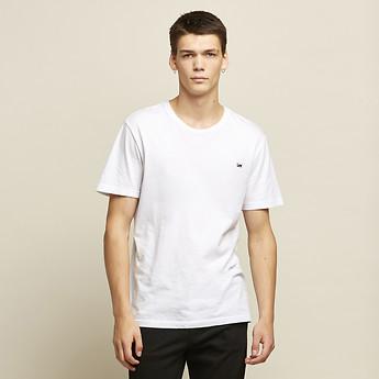 Image of Lee Jeans Australia White Light NO BRAINER TEE WHITE LIGHT