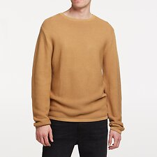 Image of Lee Jeans Australia CINNAMON LINK KNIT CREW CINNAMON