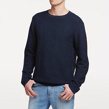 Image of Lee Jeans Australia PETROL LINK KNIT CREW PETROL