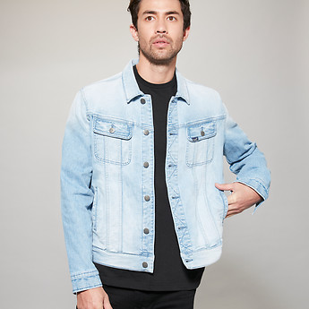 Image of Lee 101 DENIM JACKET UNDERGROUND BLUE