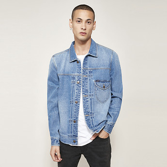 Image of Lee 101 DENIM JKT BAJA BLUE