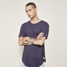 Image of Lee Jeans Australia Faded Navy CREW NECK SS POCKET TEE FADED NAVY