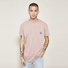 Image of Lee Jeans Australia Rose NO-BRAINER LOGO TEE ROSE
