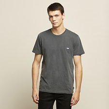 NO-BRAINER LOGO TEE PIGMENT GREY