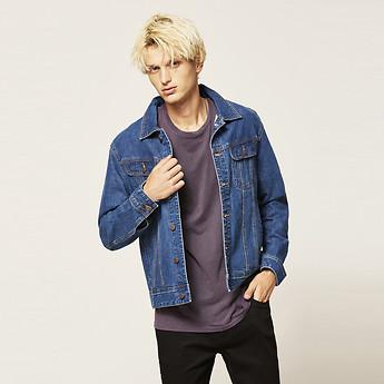 Image of Lee Jeans Australia Retro Blue TRUCKER JACKET RETRO BLUE