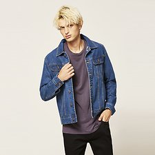 Image of Lee Jeans Australia Retro Blue TRUCKER JACKET RETRO BLUE