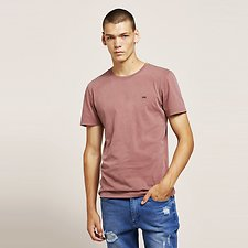 Image of Lee Jeans Australia Burgundy NO BRAINER TEE BURGUNDY