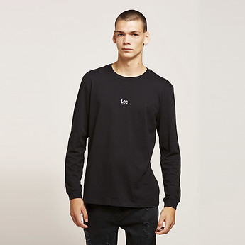 Image of Lee Jeans Australia Black   BLACK SERIES MENS LS TEE BLACK