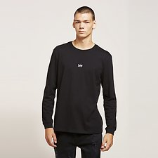 Image of Lee Jeans Australia Black   BLACK SERIES MENS LS TEE BLACK