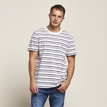 Image of Lee Jeans Australia Nay Stripe NO BRAINER TEE BIXBY STRIPE