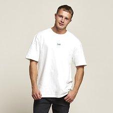 Image of Lee Jeans Australia Vintage Black  ALTOS OVERSIZE TEE VINTAGE WHITE