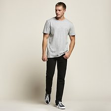 Picture of NO BRAINER TEE GREY MARL