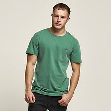Image of Lee Jeans Australia Fig Green NO BRAINER TEE FIG GREEN