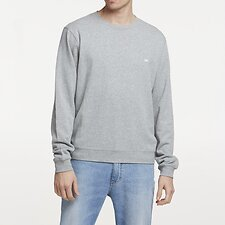 Picture of ZEPHYR CLASSIC CREW SWEAT GREY MARLE