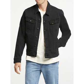 Image of Lee 101 DENIM JACKET LUNAR BLACK
