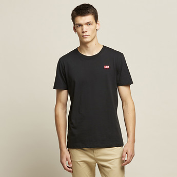 Image of Lee Jeans Australia Black   SKATALITE NO BRAINER TEE BLACK