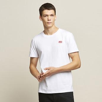 Image of Lee Jeans Australia White SKATALITE NO BRAINER TEE WHITE