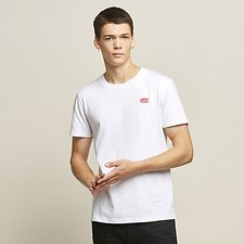 Image of Lee Jeans Australia White SKATALITE NO BRAINER TEE WHITE
