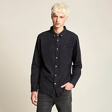 Image of Lee Jeans Australia Black   LONG ISLAND COTTON SHIRT BLACK