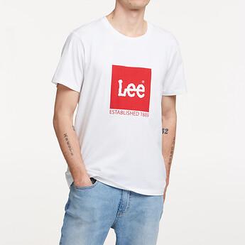 Image of Lee Jeans Australia Vintage White ESTABLISHED TEE VINTAGE WHITE
