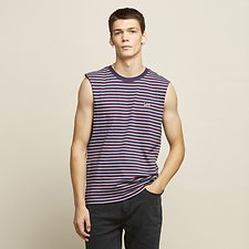 Image of Lee Jeans Australia Red Stripe STRIPE MUSCLE RED STRIPE
