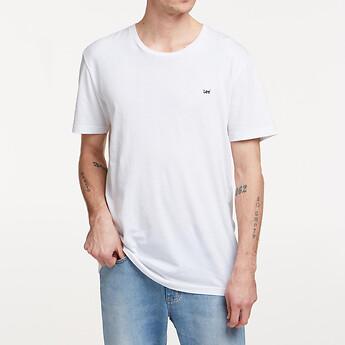Image of Lee Jeans Australia Vintage White NO BRAINER TEE VINTAGE WHITE
