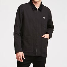 Image of Lee Jeans Australia BLACK CANVAS UNION JACKET BLACK CANVAS