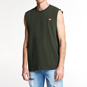 Image of Lee Jeans Australia Emerald NO BRAINER EMB MUSCLE EMERALD