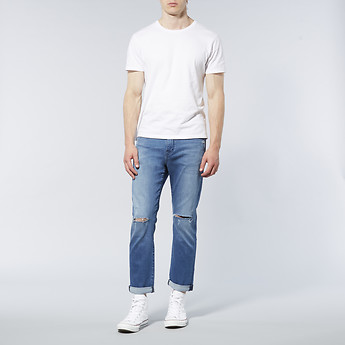 Image of Lee Jeans Australia Shatter Blue STRAIGHT - UP STOVIE JEANS SHATTER BLUE