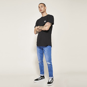 Image of Lee Jeans Australia Punchy Blue Z-ONE PUNCHY BLUE
