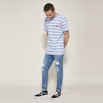Image of Lee Jeans Australia RESOLVE BLUE Z-ROLLER ROSEBOWL TRASH