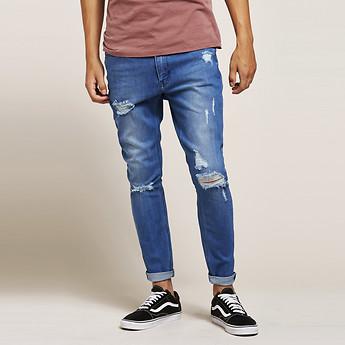 Image of Lee Jeans Australia Blue Decon Z-ROLLER ORION BLUE DECON