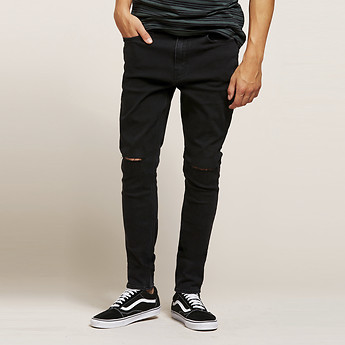Image of Lee Jeans Australia Ash Rip Z-ONE BLACK ASH RIP