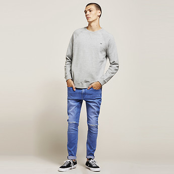 Image of Lee Jeans Australia Ignite Blue Z-ROLLER IGNITE BLUE