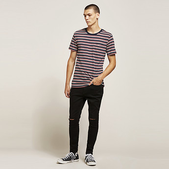 Image of Lee Jeans Australia Black Slash Z-ONE BLACK SLASH