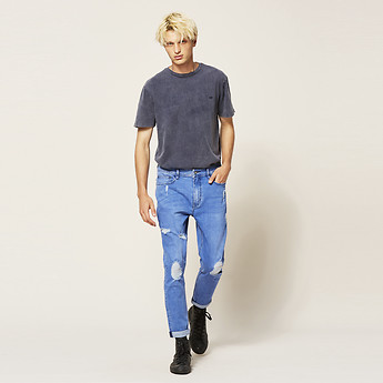 Image of Lee Jeans Australia Antigua Blue Z-ROLLER ANTIGUA BLUE
