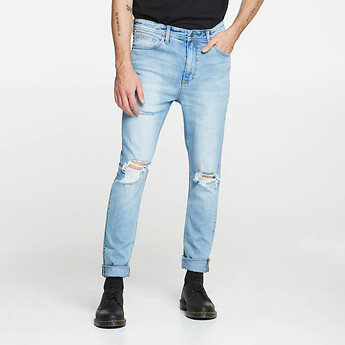 Image of Lee Jeans Australia Delta Destroy Z-ROLLER CORSAIR DESTRUCT