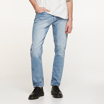 Image of Lee Jeans Australia Delta Destroy Z-TWO COMMAND BLUE