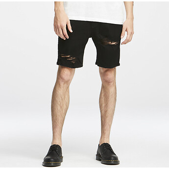 Image of Lee Jeans Australia BLACK DEST Z-ROADIE SHORT DELTA BLACK DEST