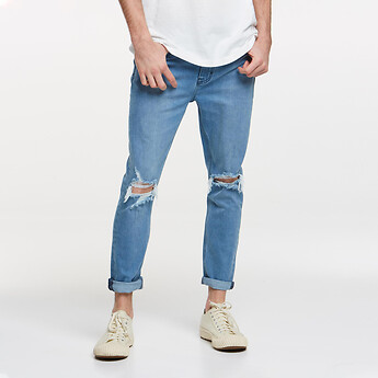 Image of Lee Jeans Australia BLUE MONDAY Z-ROLLER BLUE MONDAY