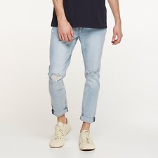 Image of Lee Jeans Australia RIFT BLUE DESTROY Z-ROLLER RIFT BLUE DESTROY