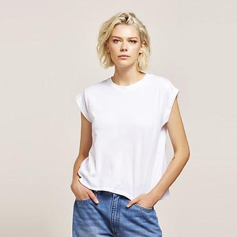 Image of Lee Jeans Australia White   NO BRAINER TEE WHITE