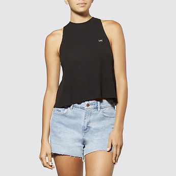 Image of Lee Jeans Australia Black   HOMEBOUND SWING TANK BLACK