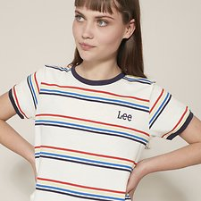 Picture of RAINBOW STRIPE OUTLAND TEE RAINBOW STRIPE