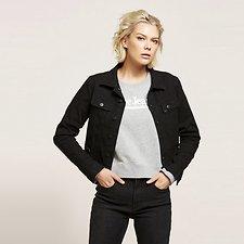 Image of Lee Jeans Australia Dual Black 101 DENIM JACKET DUAL BLACK