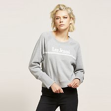 Image of Lee Jeans Australia Grey Marle 70S DART OUT CREW GREY MARLE