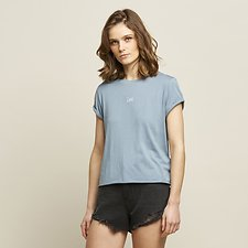 Image of Lee Jeans Australia Pine ROLLED NO BRAINER TEE PINE