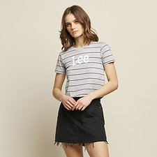 Image of Lee Jeans Australia Dirty Sky RILEY OUTLAND TEE DIRTY SKY